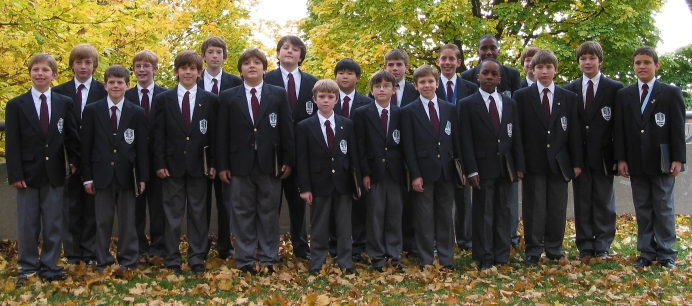 Performing Choir in blazers