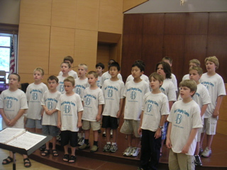 Singing Camp 2006 Performance
